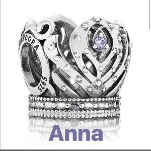 Pandora Disney Anna Crown